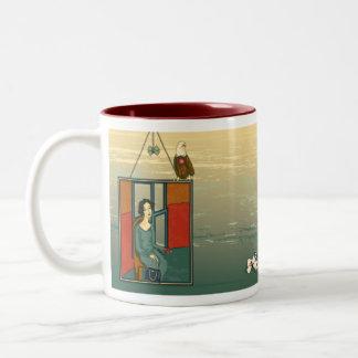 A Prodigal Homecoming Two-Tone Coffee Mug