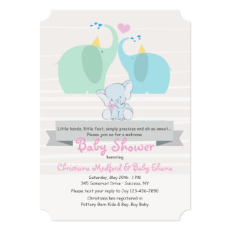 A Product of Our Love Girl Baby Shower Invitation