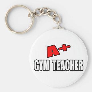 A+ Profesor de gimnasio Llavero Personalizado