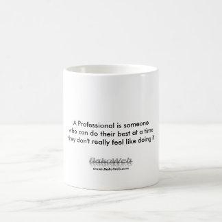 A Professional is someone... mug
