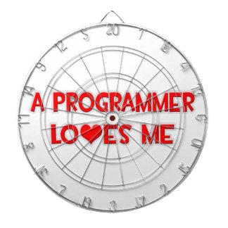 A Programmer Loves Me Dart Boards
