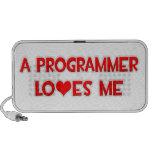A Programmer Loves Me iPhone Speaker