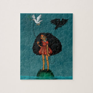 A Promise of Dry Land Jigsaw Puzzle
