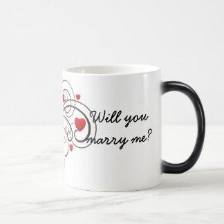 A Proposal Mug - customize the text