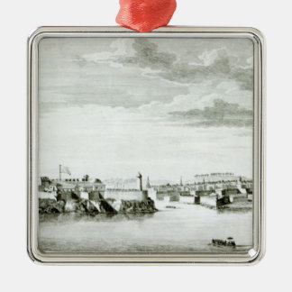 A Prospect of the Moro Castle and City of Metal Ornament