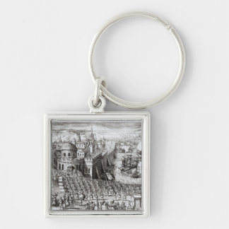 A Prospect of the Town and Harbour Keychain