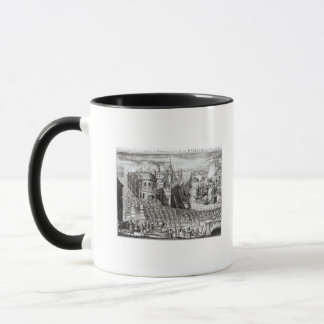 A Prospect of the Town and Harbour Mug