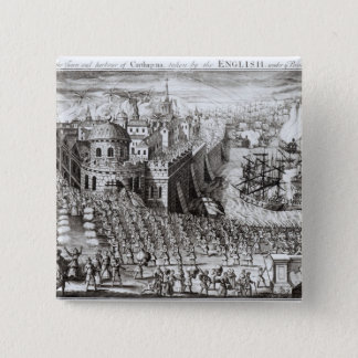 A Prospect of the Town and Harbour Pinback Button