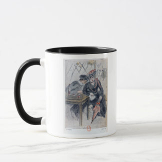 A Prostitute and her Client Mug