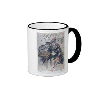 A Prostitute and her Client Mugs