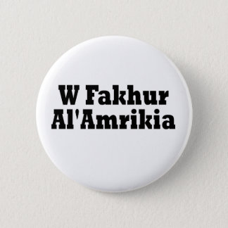 A Proud American Pinback Button