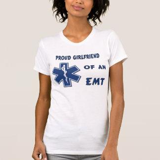 A Proud EMT Girlfriend Tee Shirt