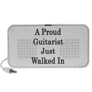 A Proud Guitarist Just Walked In Notebook Speaker