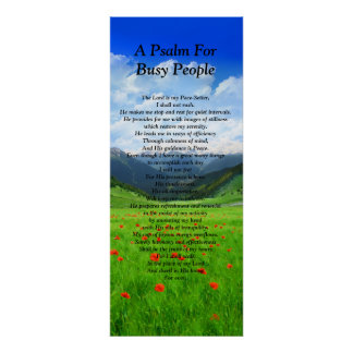 A Psalm for Busy People Poster