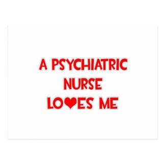 A Psychiatric Nurse Loves Me Post Cards