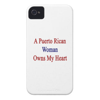 A Puerto Rican Woman Owns My Heart iPhone 4 Case-Mate Case