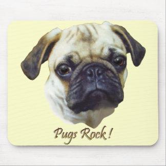 A  Pugs-Rock Mouse Pad