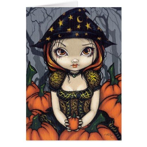 """""""A Pumpkin Gift"""" Greeting Card"""