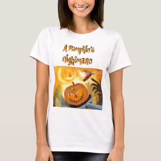 A Pumpkin's Nightmare T shirt