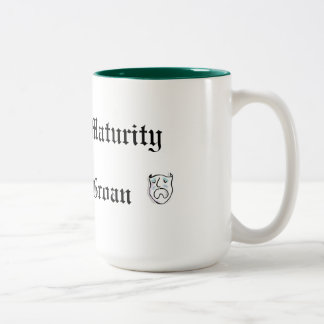 A Pun at Maturity is Fully Groan Coffee Mugs