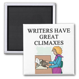 a pun for writers 2 inch square magnet