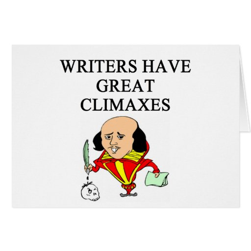 a pun for writers card