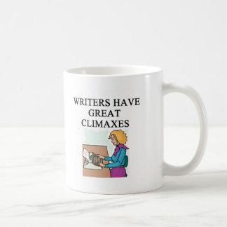 a pun for writers coffee mugs