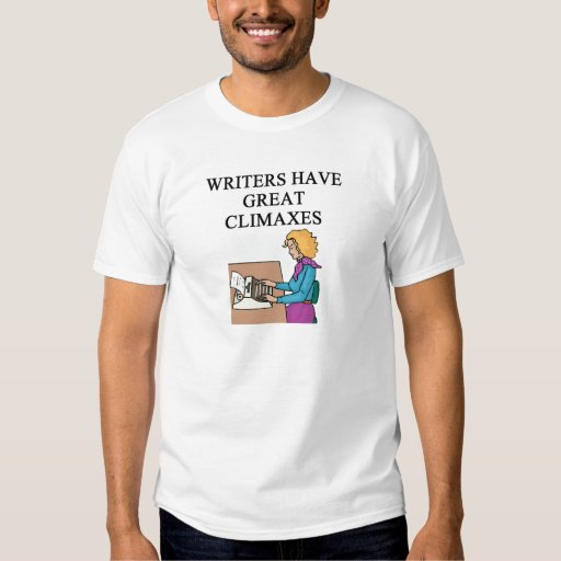 a pun for writers t-shirt