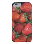 a punnet of ripe fresh strawberries for sale in barely there iPhone 6 case