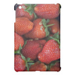 a punnet of ripe fresh strawberries for sale in case for the iPad mini