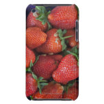 a punnet of ripe fresh strawberries for sale in iPod Case-Mate cases