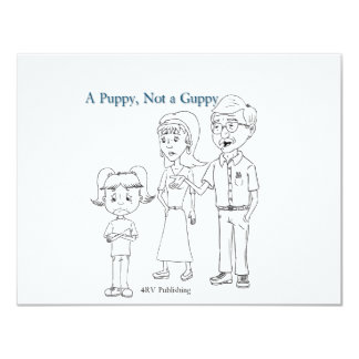 A Puppy, Not a Guppy family Card