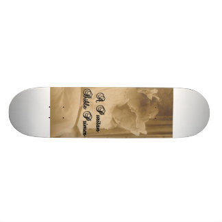 A Puritan Bible Primer Skateboard