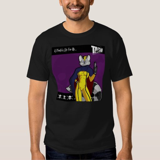 """A purple pirate's life for me"" t-shirt"