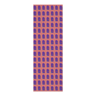 A Purple Shield Tiled Vertical Poster