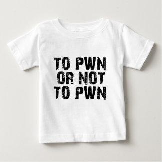 A Pwn o no a la camiseta del niño de Pwn Remeras