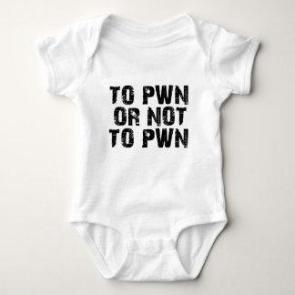 A Pwn o no a Pwn Body Para Bebé