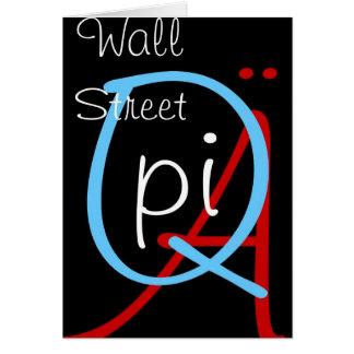 a q pi wall street card