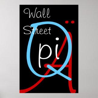 a q pi wall street poster