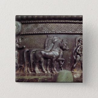 A Quadriga and a Hoplite Button