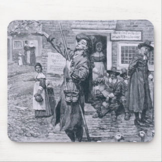A Quaker Exhorter in New England Mouse Pad
