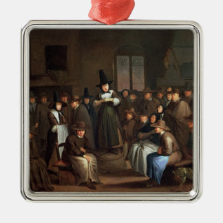A Quakers Meeting Christmas Ornaments