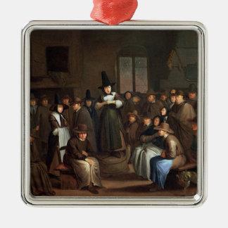 A Quakers Meeting Christmas Ornaments