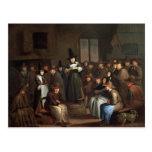 A Quakers Meeting Postcard
