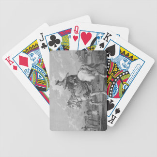 A Quan or Mandarin Bearing a Letter from the Emper Bicycle Poker Cards