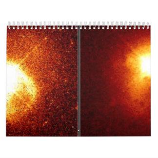 A Quasar s Companion Galaxy left and Galaxy Calendar