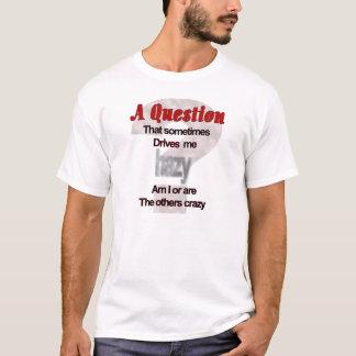 A Question That Sometimes Drive Me Hazy... T-Shirt