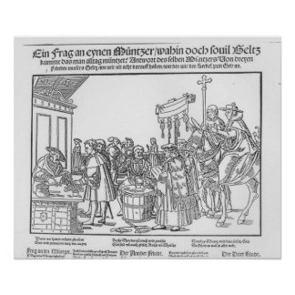 A Question to a Mintmaker, c.1500 Poster