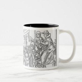 A Question to a Mintmaker, c.1500 Two-Tone Coffee Mug