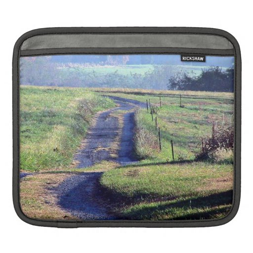 A quiet country lane sleeves for iPads